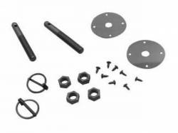 1964 - 1973 Mustang  Hood Pin Kit (without Cables)