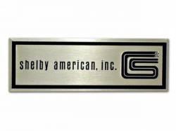 Door Panels & Related - Sill Plates - Scott Drake - 1965 - 1966 Mustang  Shelby Door Sill Scuff Plate Emblem