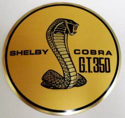 Emblems - Shelby - Scott Drake - 1967 Mustang Shelby Gas Cap Emblem, GT-350