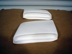 Fiberglass - S Styling - Stang-Aholics - 1968 Mustang SR-68 Fiberglass Lower Side Scoops, Non-Functional