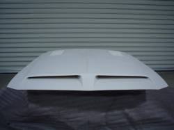 Fiberglass - Shelby - Stang-Aholics - 1968 Shelby Mustang  Fiberglass Hood, with Ram-air Chamber