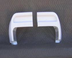 Build Kits - S-Style Parts - Stang-Aholics - 1969 Mustang Fastback SR-69 Fiberglass Spoiler End Caps, Pair