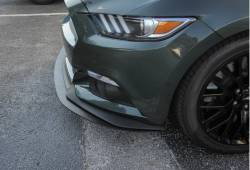 Spoilers - Front - Steeda Autosports - 15 Mustang Steeda S550 Front Splitter - Street (15 GT w/ PP chin)