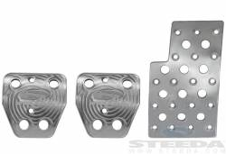 Pedals - Aftermarket Pedal Covers - Steeda Autosports - 15 Mustang Steeda S550 Heel/Toe Pedal Kit - Manual