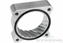 Engine - Throttle Body - Steeda Autosports - 2015 - 2020 Mustang Steeda EcoBoost Throttle Body Spacer