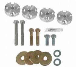 Suspension Kits - Rear Kit - Steeda Autosports - 15 Mustang Steeda Race Differential Bushing Insert System - Aluminum