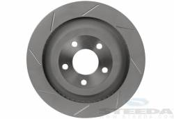 "Disc Brakes - Rotors - Steeda Autosports - 15 Mustang Steeda 13"" Slotted Rear Brake Rotors"