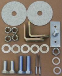 Seats & Components - Seat Belts - Scott Drake - 3 Point Seat Belt Hardware Kit