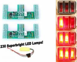 Electrical & Lighting - Tail Lights - Scott Drake - 67 - 68 Mustang Led Sequential Tail Light Kit: easy