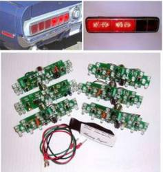 Electrical & Lighting - Tail Lights - Scott Drake - 67 - 68 Mustang Cal Special/shelby Led Sequential