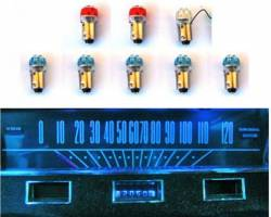 Electrical & Lighting - Interior Lights - Scott Drake - 64 - 65 Mustang Instrument Panel Led Bulb Set