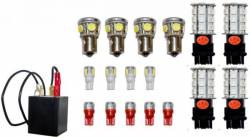 Electrical & Lighting - Tail Lights - Scott Drake - 89 - 93 Mustang LED Exterior Light Upgrades
