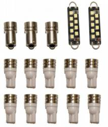 Electrical & Lighting - Interior Lights - Scott Drake - 84 - 93 Mustang LED Interior Lamp Upgrade Kit