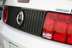 Body - Tail Light Panels - SilverHorse Racing - 05 - 09 Mustang Honeycomb Tail Panel