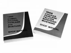 Accessories - Literature - Scott Drake - 1966 Mustang Shop Manual