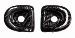 Carbon Fiber - Interior - TruFiber - 05 - 13 Mustang Carbon Fiber Door Lock Inserts