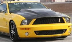 Carbon Fiber - Hood & Related - TruFiber - 05 - 09 Mustang GT500 Carbon Fiber Hood