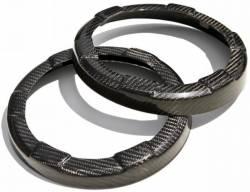 TruFiber - 05 - 09 Mustang Carbon Fiber Speaker Rings