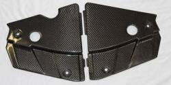 TruFiber - 05 - 09 Mustang GT Radiator Extension Covers