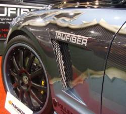 Carbon Fiber - Misc Pieces & Trim - TruFiber - 05 - 09 Mustang Carbon Fiber Vented Fenders