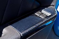 Carbon Fiber - Interior - TruFiber - 10 - 14 Mustang Window Switch Covers- Convertible