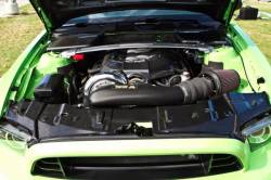 Engine - Engine Compartment Dress-Up - TruFiber - 2013 - 14 Mustang Carbon Fiber Radiator Cover
