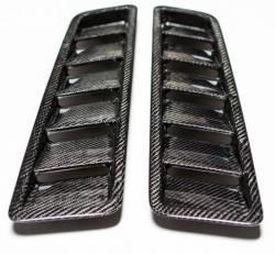 Carbon Fiber - Hood & Related - TruFiber - 2013 Mustang GT Carbon Fiber Hood Vents