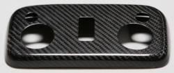 Carbon Fiber - Interior - TruFiber - 2013 Mustang Convertible Carbon Fiber Map Light