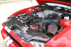 Engine - Engine Compartment Dress-Up - TruFiber - 10 - 13 Mustang GT500 Carbon Fiber Radiator Cover
