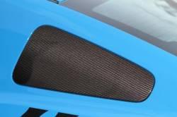 Carbon Fiber - Misc Pieces & Trim - TruFiber - 10 - 13 Mustang Carbon Fiber Window Covers