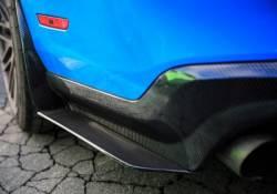 Carbon Fiber - Misc Pieces & Trim - TruFiber - 10 - 14 Mustang Rear Diffuser Splitters
