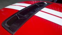 Carbon Fiber - Hood & Related - TruFiber - 10 - 13 Mustang GT500 Carbon Fiber Hood Vent