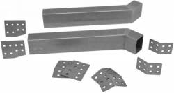 Frame - Rear Frame Rail - Total Control Products - 64 - 70 Mustang Mini Tub Frame Rail Insert Kit