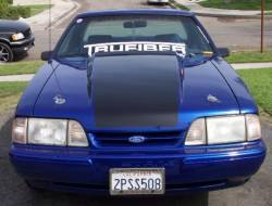 87 - 93 Ford Mustang Fiberglass Hood