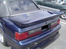 Spoilers - Rear - TruFiber - 87 - 93 Ford Mustang Fiberglass Rear Spoiler