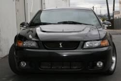 Fiberglass - Hoods - TruFiber - 94 - 98 Mustang Monster Fiberglass Hood