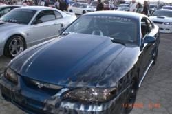 Fiberglass - Hoods - TruFiber - 94 - 98 Mustang Fiberglass Hood Cowl Induction