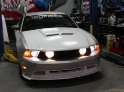 Fiberglass - Hoods - TruFiber - 2010 -2012 Mustang SH-GT Fiberglass Hood