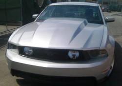 Fiberglass - Hoods - TruFiber - 2010 - 2012 Mustang 3 Inch Cowl Fiberglass Hood