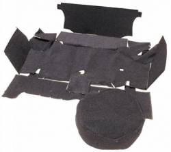 Carpet Kits - Fastback - Scott Drake - 67 - 68 Mustang Fastback Trunk Carpet Kit