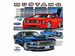 Accessories - Apparel - Scott Drake - Mustang Evolution T-Shirt (Small)