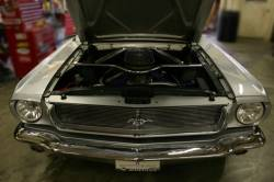 Grille - Grille Assembly - Undercover Innovations - 1966 Mustang Aluminum Grill Cover, Polished