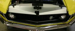 Grille - Grille Assembly - Undercover Innovations - 69 - 70 Mustang Aluminum Grille Cover CLEAR ANODIZED