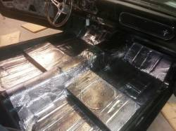 64 - 73 Mustang Silver Magic Insulating Sheets