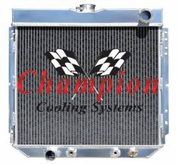 Champion Cooling - 67 - 70 Mustang Radiator Driver Side Outlet - Image 2