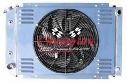 Champion Cooling - 80 - 93 Mustang Champion Fan & Shroud Kit