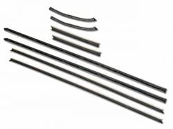 Weatherstrip - Window - Scott Drake - 67-68 Cougar Window Channel Weather Strips
