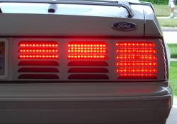 1979-1993 Mustang Parts - 1979-1993 New Products - Miscellaneous - 83 - 93 Mustang LED Tail Lights, Sequential