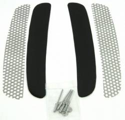 Fiberglass - S-Styled - California Pony Cars - 1968 Mustang Grille Kit for Shelby Style/CA Special Lower Quarter Side Scoops