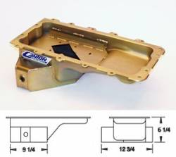 Oil System - Pans - Canton Racing - 96 - 10 Mustang 4.6/5.4 Rear Sump T Style Pan